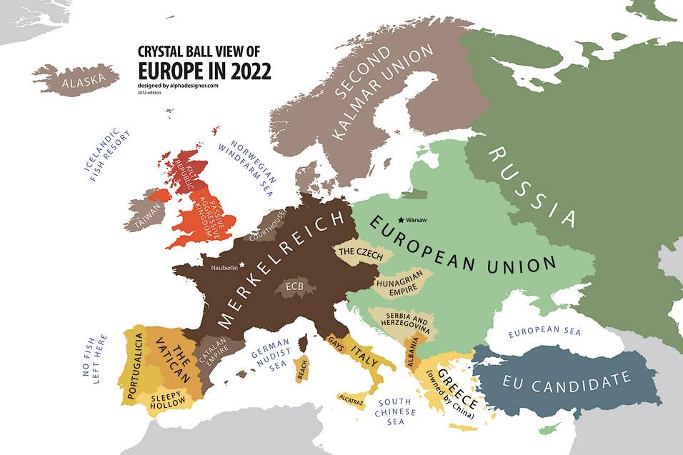 Europa im Jahr 2022 | Yanko Tsvetkov, www.alphadesigner.com